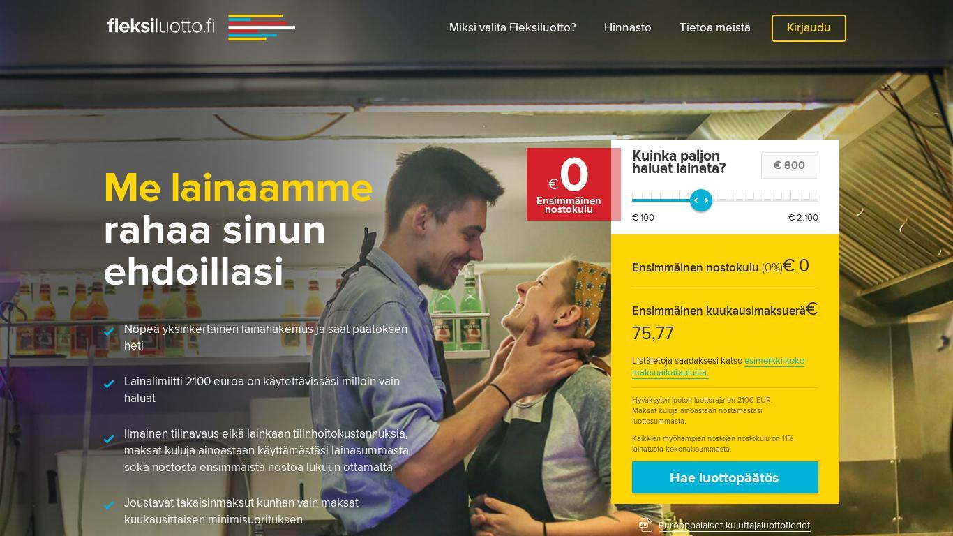 maksaa luottokortilla vaihtuvakorkoinen laina Suomen pikavippipaikat pikavipit
